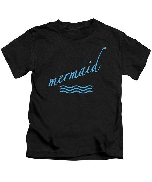 Mermaid Kids T-Shirt by Bill Owen