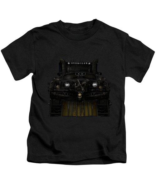 Midnight Run Kids T-Shirt by Shanina Conway