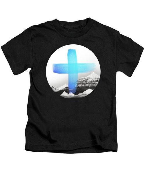 Mountains Kids T-Shirt by Amy Hamilton