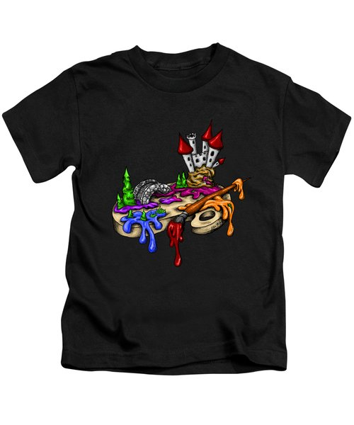 My Color Palette Kids T-Shirt by Alexandra Franzese