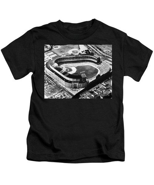 New York: Yankee Stadium Kids T-Shirt by Granger