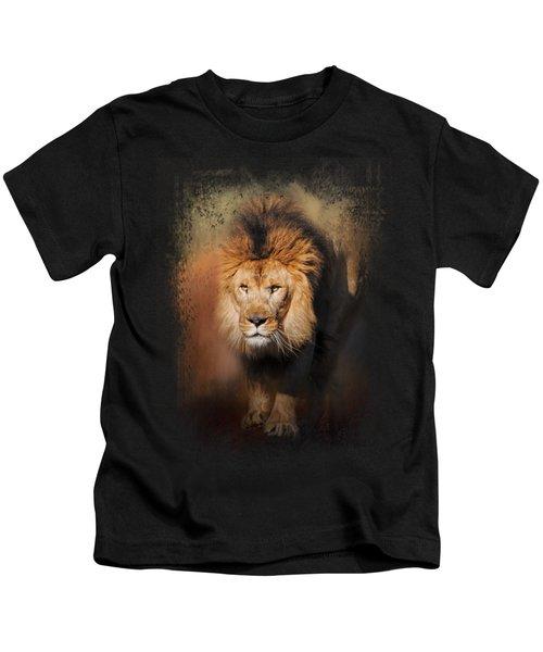 On The Hunt Kids T-Shirt by Jai Johnson