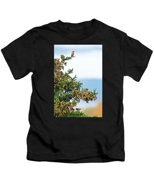Out On A Limb # 2 Kids T-Shirt by Matt Plyler