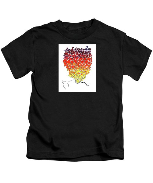 Pele Dreams Kids T-Shirt by Diane Thornton