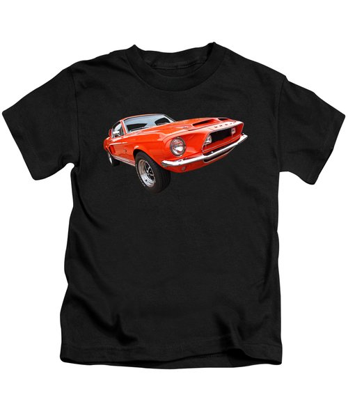 Shelby Gt500kr 1968 Kids T-Shirt by Gill Billington