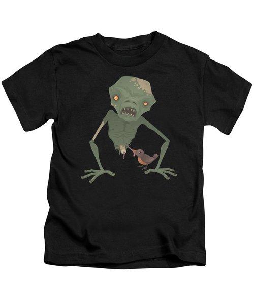 Sickly Zombie Kids T-Shirt by John Schwegel