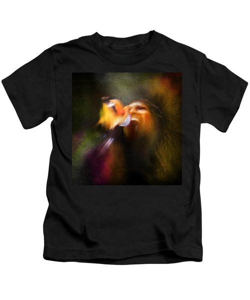 Soul Scream Kids T-Shirt by Miki De Goodaboom