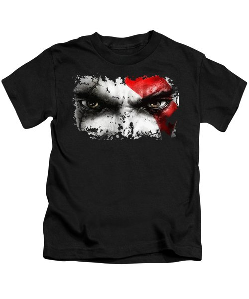 Strong Warrior Kids T-Shirt by Opoble Opoble