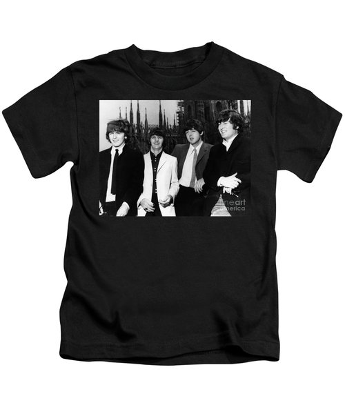 The Beatles, 1960s Kids T-Shirt by Granger