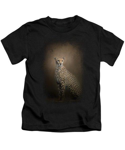 The Elegant Cheetah Kids T-Shirt by Jai Johnson