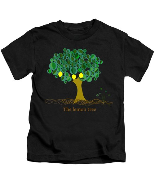 The Lemon Tree Kids T-Shirt by Alberto RuiZ