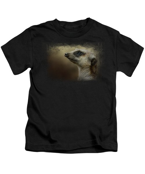 The Meerkat Kids T-Shirt by Jai Johnson