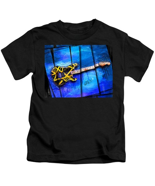 The Yellow Jacket Kids T-Shirt by Gary Bodnar