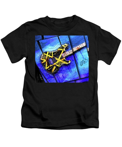 The Yellow Jacket_cropped Kids T-Shirt by Gary Bodnar