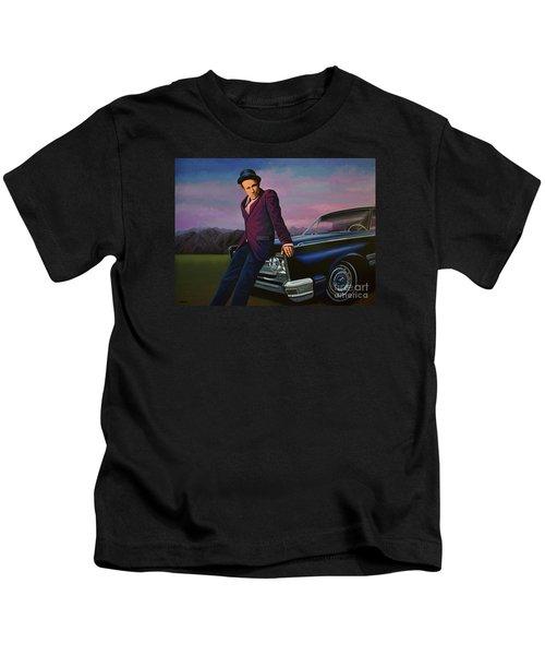 Tom Waits Kids T-Shirt by Paul Meijering