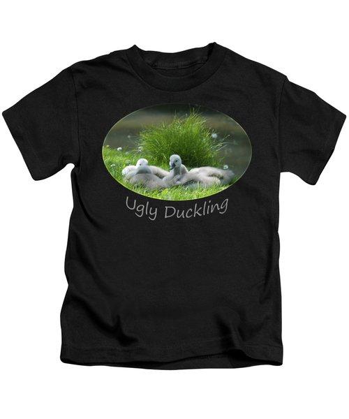 Ugly Duckling Kids T-Shirt by Richard Gibb