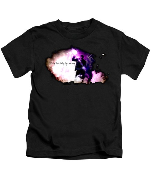 Ultraviolet Kids T-Shirt by Clad63