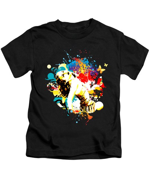 Vixen Subdued Kids T-Shirt by Chris Andruskiewicz