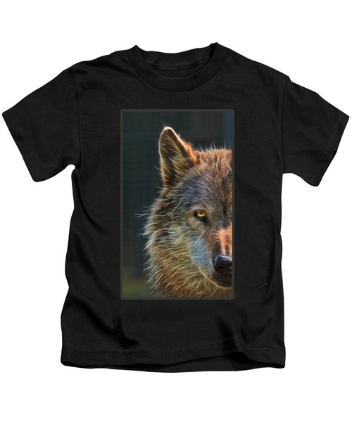 Wild Night Kids T-Shirt by Gill Billington
