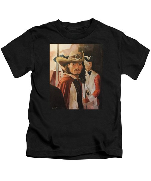Will Turner Kids T-Shirt by Caleb Thomas