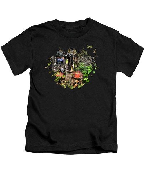 Yesterdays Memories Kids T-Shirt by Thom Zehrfeld