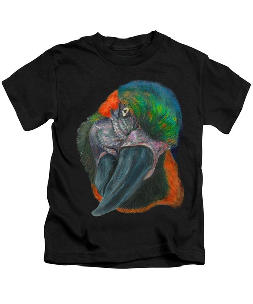 You Looking At Me Kids T-Shirt by Tricia Winwood