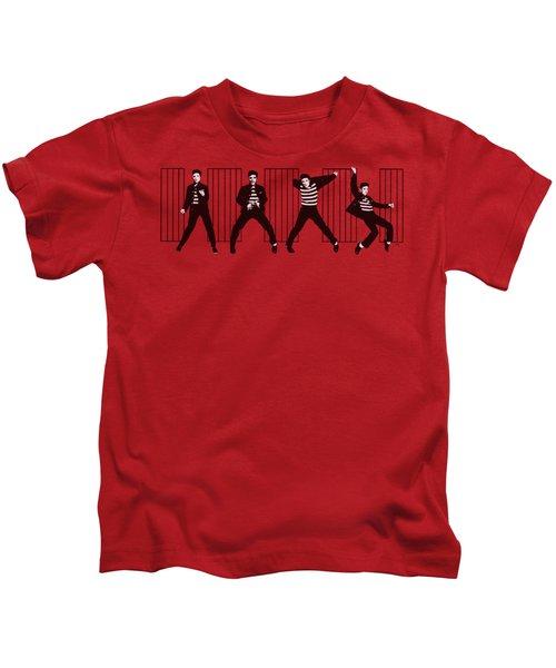 Elvis - Jailhouse Rock Kids T-Shirt by Brand A