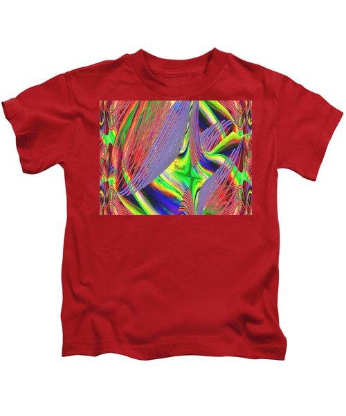Albatross Dreamscape Kids T-Shirt by Tim Allen