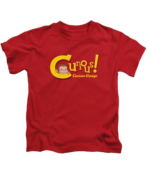 Curious George - Curious Kids T-Shirt by Brand A