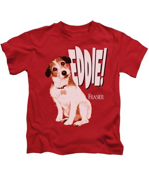 Frasier - Eddie Kids T-Shirt by Brand A