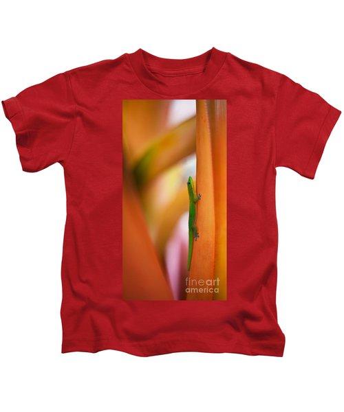Island Friend Kids T-Shirt by Mike Reid