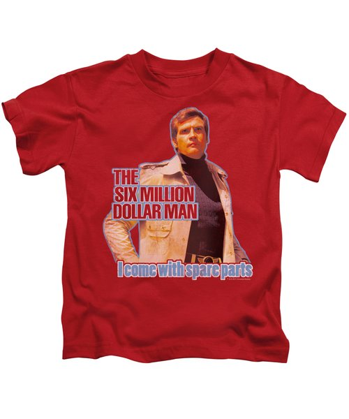 Six Million Dollar Man - Spare Parts Kids T-Shirt by Brand A