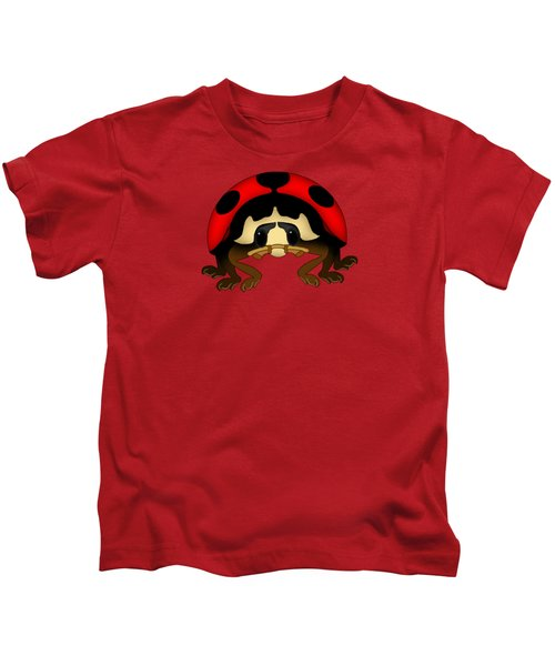 Red Bug Kids T-Shirt by Sarah Greenwell