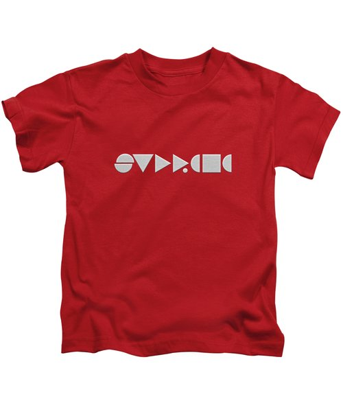 Supreme Being Embroidered Abstract - 2 Of 5 Kids T-Shirt by Serge Averbukh