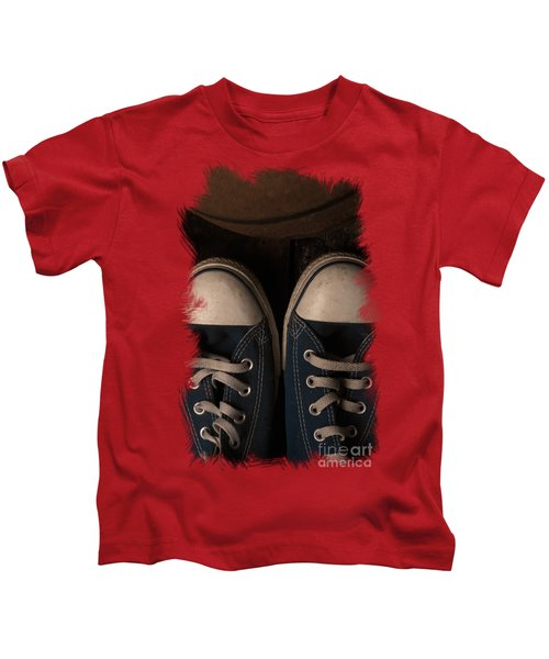 Time To Play Kids T-Shirt by Eugene Campbell