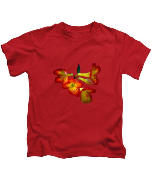 Color Burst Kids T-Shirt by Mark Andrew Thomas