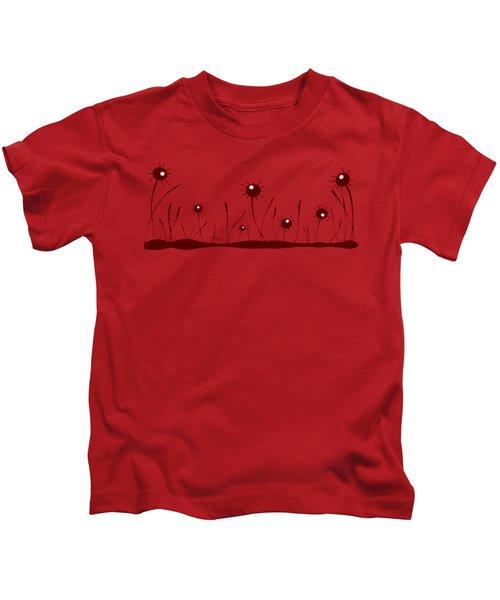 Line Of Defense Kids T-Shirt by Anastasiya Malakhova