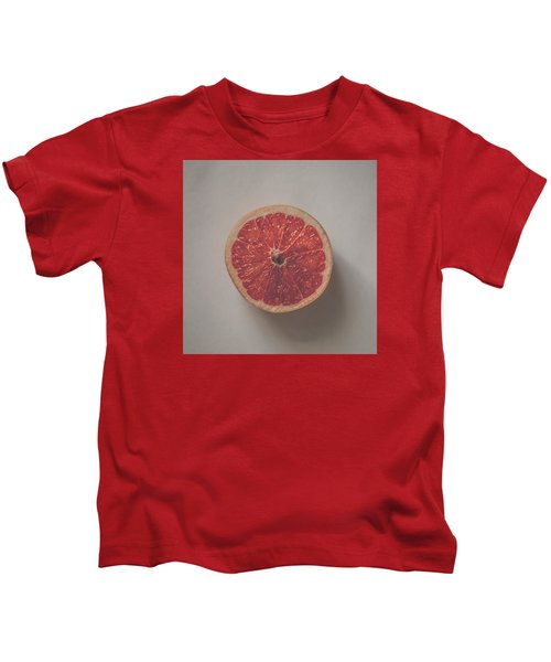 Red Inside Kids T-Shirt by Kate Morton