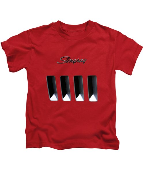 Stingray Gills Kids T-Shirt by Dennis Hedberg