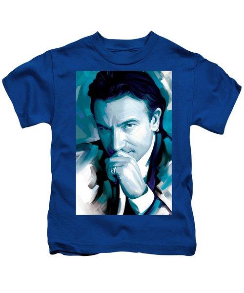 Bono U2 Artwork 4 Kids T-Shirt by Sheraz A