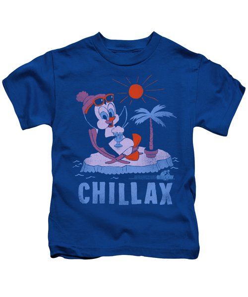 Chilly Willy - Chillax Kids T-Shirt by Brand A