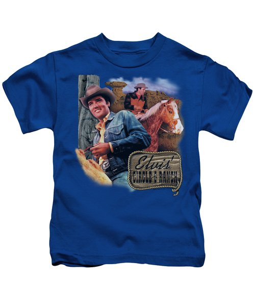 Elvis - Ranch Kids T-Shirt by Brand A