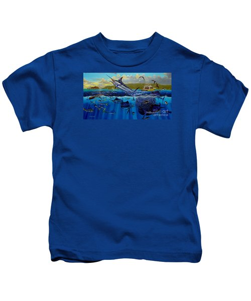 Los Suenos Kids T-Shirt by Carey Chen