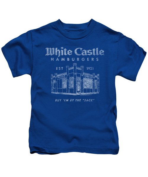 White Castle - By The Sack Kids T-Shirt by Brand A