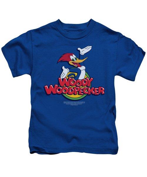 Woody Woodpecker - Woody Kids T-Shirt by Brand A