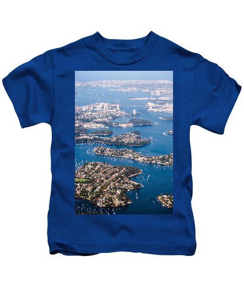 Sydney Vibes Kids T-Shirt by Parker Cunningham