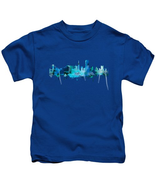 San Francisco Kids T-Shirt by Mark Ashkenazi