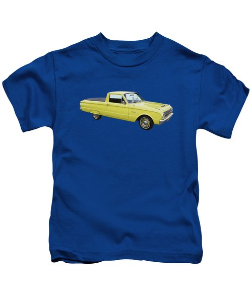 1962 Ford Falcon Pickup Truck Kids T-Shirt by Keith Webber Jr