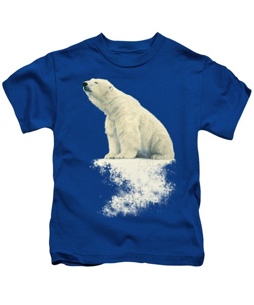Something In The Air Kids T-Shirt by Lucie Bilodeau