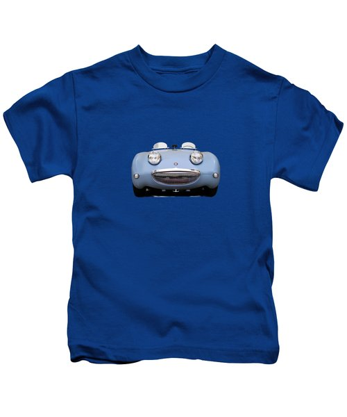 Austin Healey Sprite Kids T-Shirt by Mark Rogan